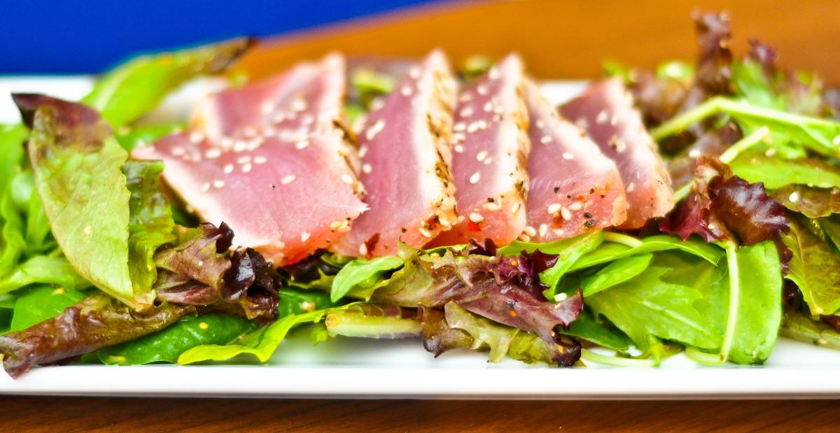 Tuna Two Ways: Ahi Poke & Seared Tuna Salad