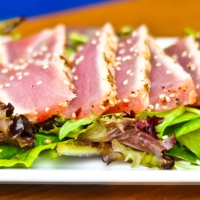 Tuna Two Ways: Ahi Poke & Seared Tuna Salad