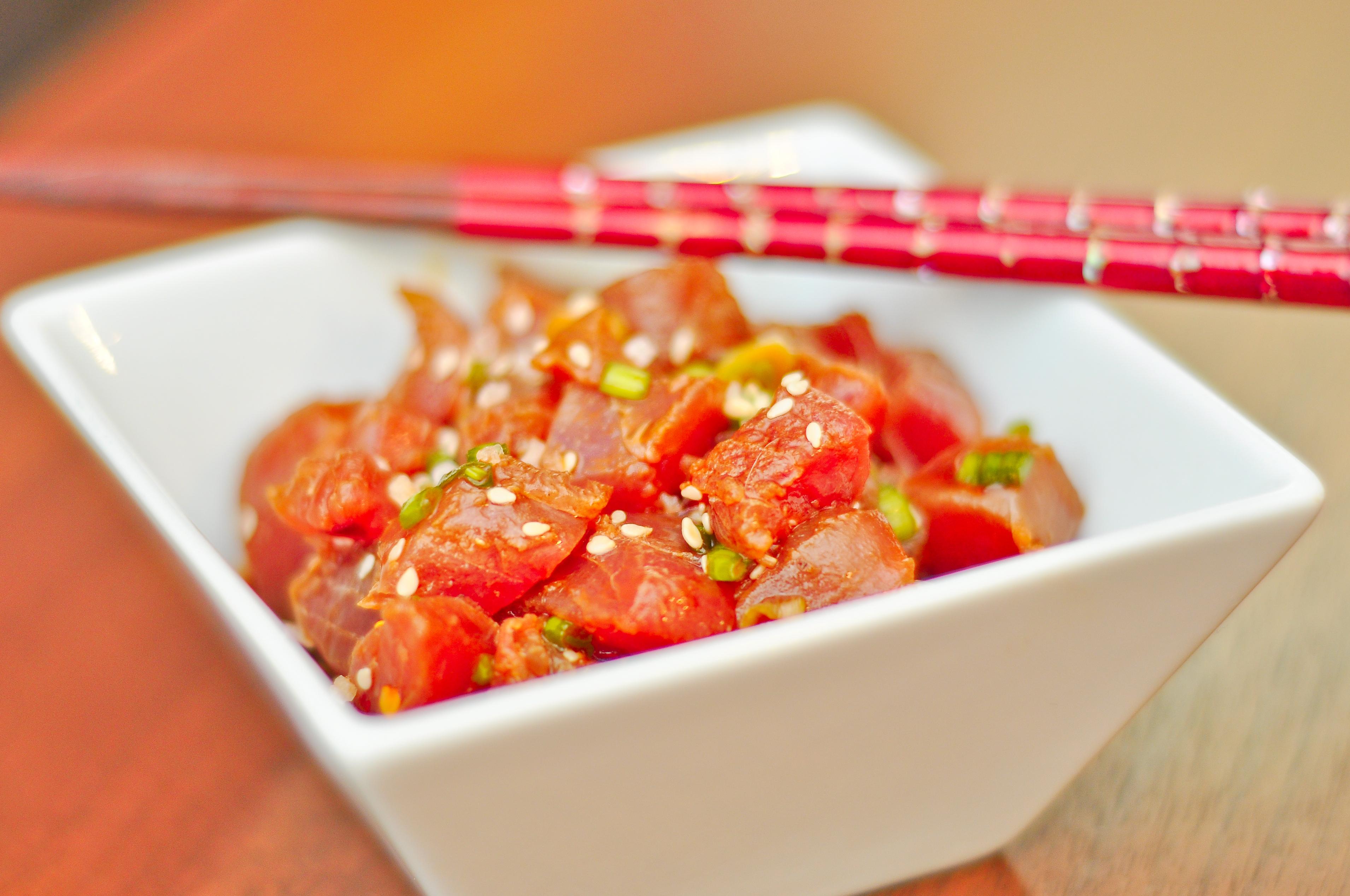 poke recipe this poke is simply freshly made ahi poke ahi poke basic ...